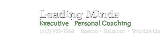 Leading Minds Executive Coaching Boston MA